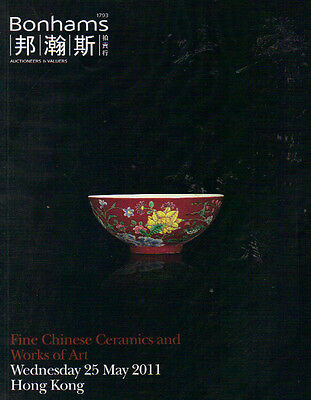 Fine Chinese Ceramics and Works of Art Wednesday 25 May 2011. Bonhams.