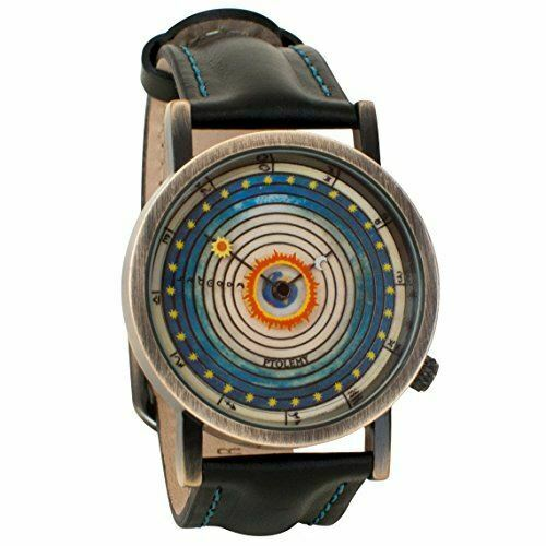 Ptolemaic Universe Model Astronomy Unisex Analog Watch. The Unemployed Philosophers Guild.