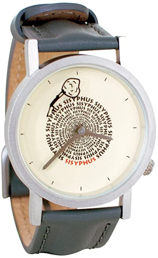 Sisyphus Greek Mythology Unisex Analog Watch. The Unemployed Philosophers Guild.