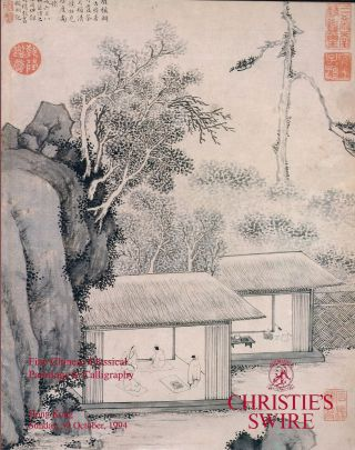 fine chinese classical paintings & calligraphy Sunday 30 october 1994. Christies
