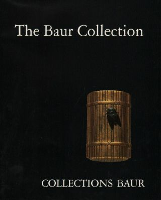 Baur Collection: Japanese Lacquer