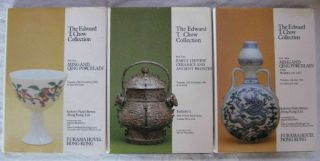 The Edward T. Chow Collection: 3 Volume Set Part One: Ming and Qing Porcelain; Part Two: Early...